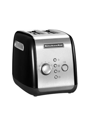 KitchenAid KitchenAid 5KMT221 Onyx Black-EOB 2 Dilim Ekmek Kızartma Makinesi Siyah